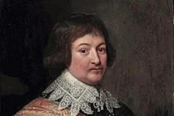 a portrait painting of Bernard van Saksen Weimar